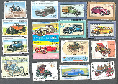 Vintage  & Classic transport-Cars mainly-100 all different collection(some local