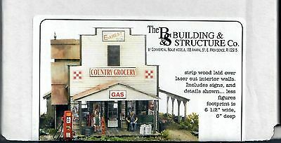 "Building & Structure Co. (Banta) S/SN3 ""Everest Country Grocery"" Kit - New"