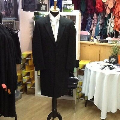 Men's Black  Wedding Victorian Frockcoat