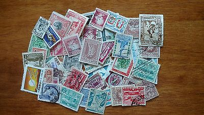 Peru - Accumulation/Kiloware 200 different used off paper stamps - AC 201