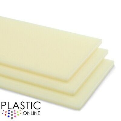Ivory Colour Perspex Acrylic Sheet Plastic Material Panel Cut to Size
