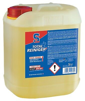 12,60eur / Litre - S100 Total Cleanser Plus 5 Motorcycle Cleaner New Formula