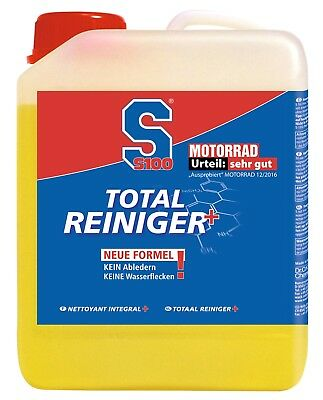 13,50eur / Litre - S100 Total Cleanser Plus 2 Motorcycle Cleaner New Formula