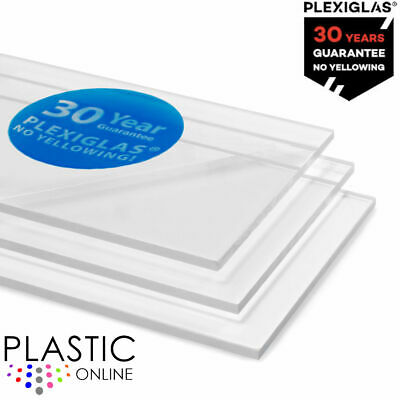 Clear Acrylic Perspex Sheet Cut To Size Panels Plastic Material