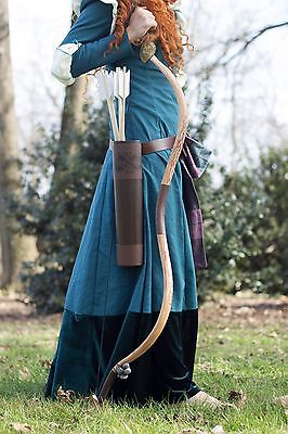 Merida Bow, Quiver, and Arrow Deluxe Bundle  - Handmade