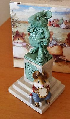 "Wee Forest Folk LTD-03 ""Statue In The Park"" LIMITED EDITION of 2000 1987 MINT"
