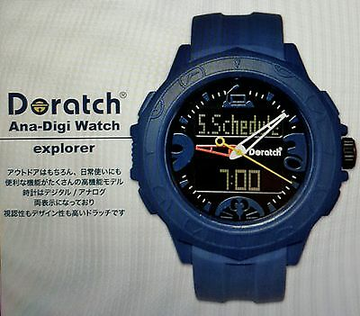 Doraemon Doratch Wrist Ana-Digi Watch explore from JAPAN*Free Shippig*