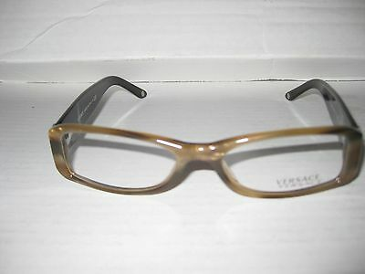 new versace eyeglasses frames 3109b col 773 brown for women 100 authentic
