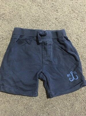 Baby Boys Shorts With Elastic Waist Size 6-12 Months GUC