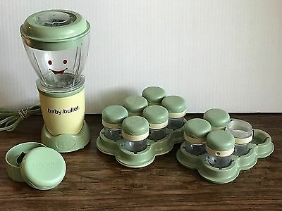 Magic Bullet-Baby Bullet Baby Food Blender System 9 Date Dial Cups