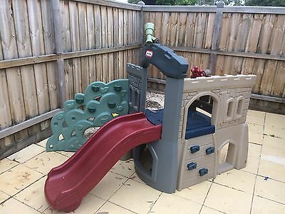 Little tykes play forte with slide