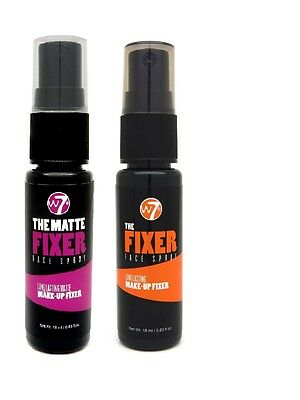 W7 The Fixer Face Spray - Long Lasting Makeup Fixing Setting Spray