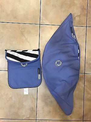 Bugaboo Cameleon 3 Canopy And Bassinet Apron Jewel Blue Limited Edition