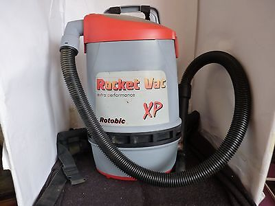 Used second hand good condition HAKO Rocket Vac XP Backpack Vacuum Cleaner