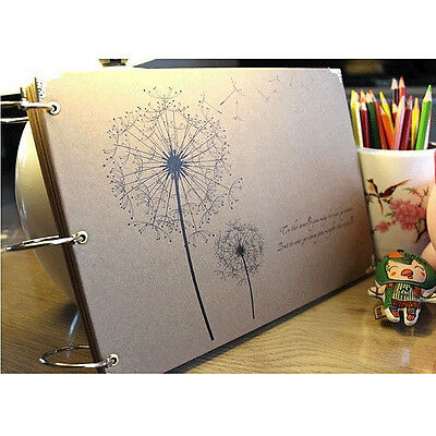 """Dandelion"" DIY Photo Album Baby Mommy Book Wedding Album Gift US"