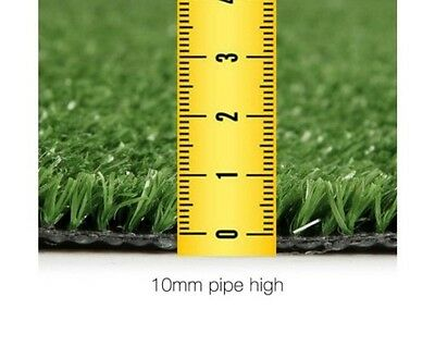 Artifical Synthetec Lawn Grass Fake Flooring Indoor Outdoor 10mm Height 20 SQM