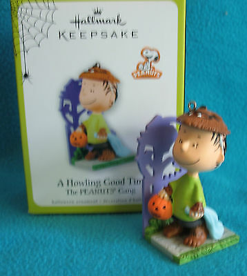 Hallmark 2011 Halloween~The Peanuts Gang~A Howling Good Time~Linus