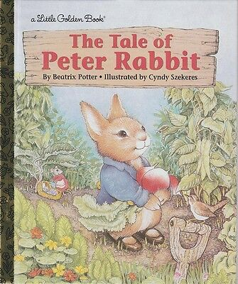 NEW LGB LITTLE GOLDEN BOOK CLASSIC: PETER RABBIT by Beatrix Potter