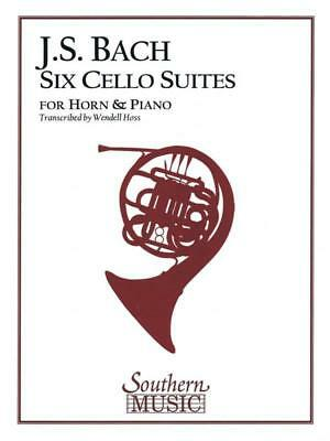 Suites Cellos Transcribed For Horn Ed Hoss