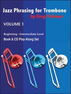 Jazz Phrasing For Trombone Vol 1 Book2Cds