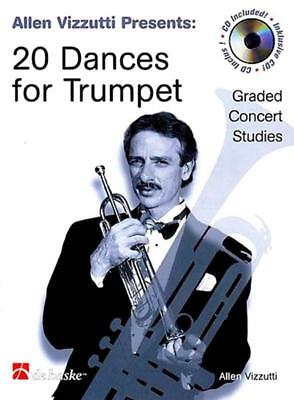 20 Dances For Trumpet Book & Cd