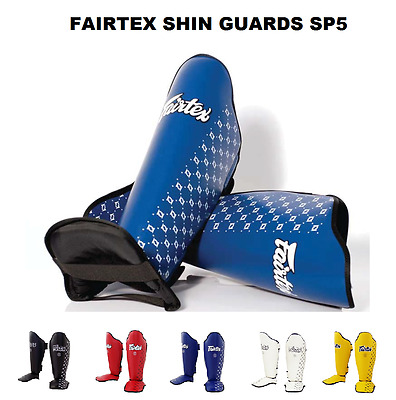 Fairtex SP5  Shin Guards Muay Thai Kick Boxing Competition Shin Pads Protection