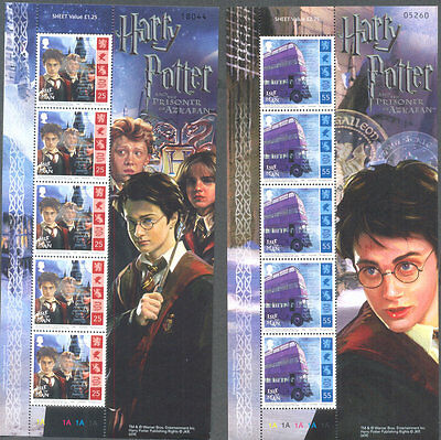 Isle of Man Harry Potter complete sheets mnh 200498 values)