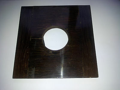 Wooden Lens Board 153x153mm (6x6inch). 53mm (2inch) hole