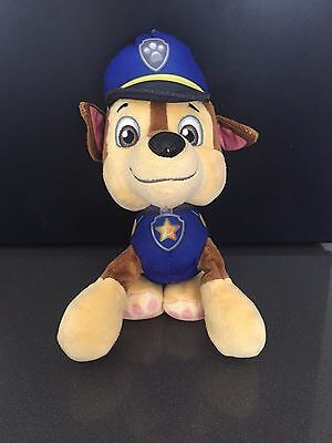 """Chase from Paw Patrol Pup Pals 8""""  Kids Gift Soft Plush Toy Dog"""