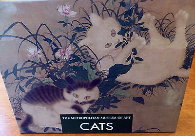 Vintage Metropolitan Museum of Art Cats Notecards - 24 Cards