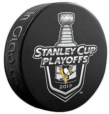 Pittsburgh Penguins Puck 2017 Nhl Playoffs Stanley Cup Champions Special $8.49!!
