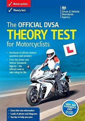 The Official DVSA Theory Test for Motorcycle Book Valid For 2017/2018 Test - NEW