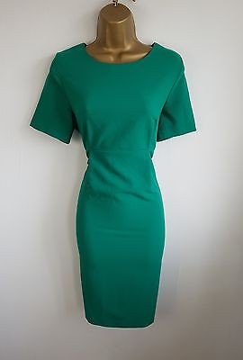 Blooming Marvellous Green Smart Work Office Party Maternity Pencil Dress Size 12