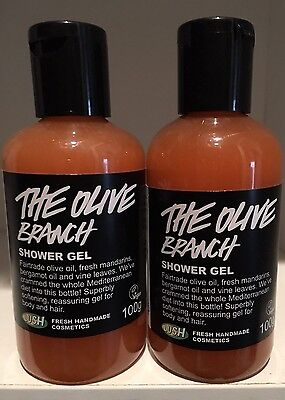 Lush Cosmetics The Olive Branch Shower Gel 100g x 2 - SALE!! REDUCED!!