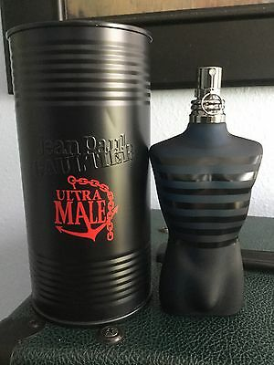Jean Paul Gaultier Ultra Male 4.2 oz - 99% Full! *Discontinued*
