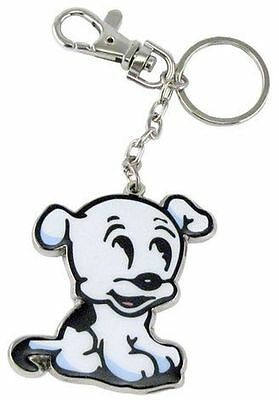 Betty Boop Key Chain Zipper Pull Pudgy Dog  Design