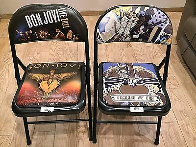 Bon Jovi VIP Concert Chairs - Mint, Rare, Only Can Get at Front Row Concert!
