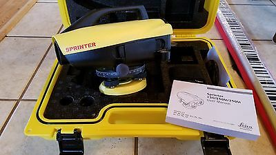 Leica Sprinter 150 Electronic Level (New)