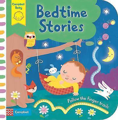 Bedtime Stories: Baby's First Storybook: Follow the Finger Trails-ExLibrary