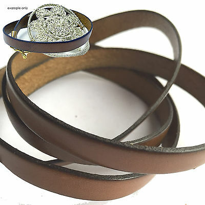 50cm x 10mm Genuine Leather Cord (3 Options)