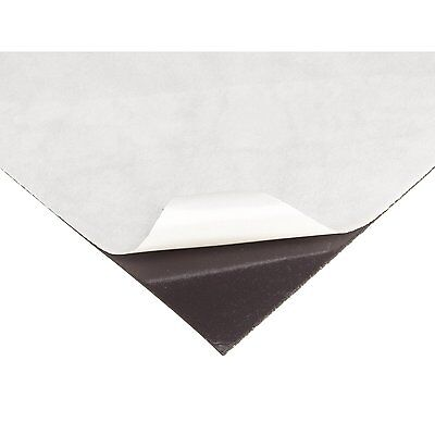 60 mil ADHESIVE MAGNETIC /  MAGNET SHEET - 24x24 in. - GREAT FOR PHOTOS ETC.