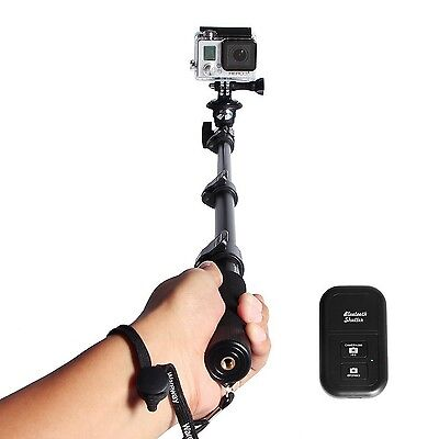 Extending Selfie Stick with Remote Housing Tripod Mount for GoPro Hero 1 2 3 ...