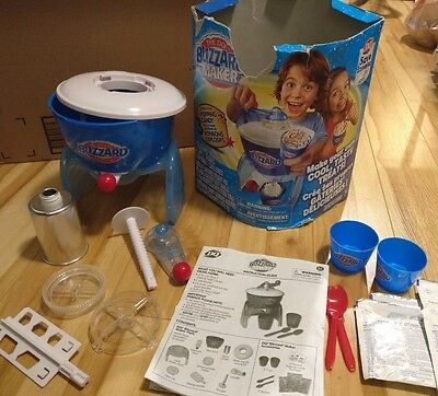 DQ Dairy Queen Blizzard Ice Cream Spin Master Maker All Parts w/ Box