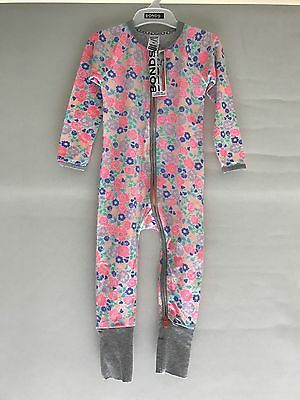 Bonds Zip Wondersuit Zippy Target Floral Rare Size 2 New Bnwt