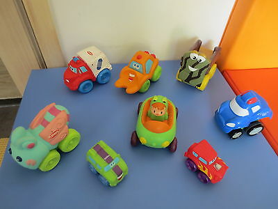 Lot 8 voitures TONKA...PLAYSKOOL...COTOON'S
