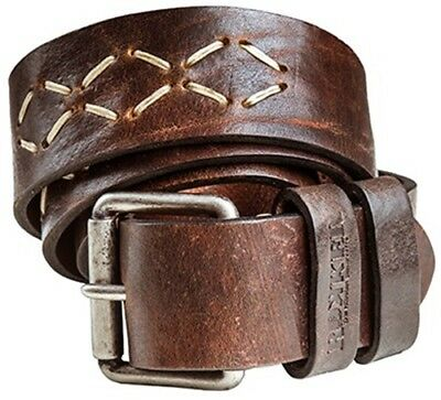 Rokker Sioux Belt Brown with Indian Embroidery from the Vintage Collection