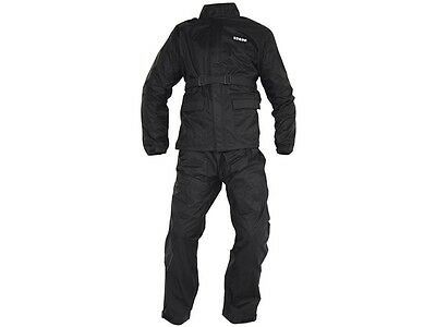IXS Horton Motorcycle Rain body suit two piece waterproof with Bag for Stow