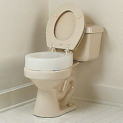 Patterson Medical Carex Elevated Toilet Seat