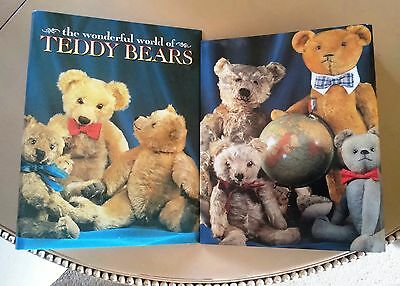 RARE! Wonderful World Of Teddy Bears Folder Brand New Never Used Be Inspired!