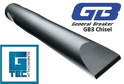 General Breaker GB3T Chisel Tool Moil Rock Breaker Hydraulic Hammer NEW GB